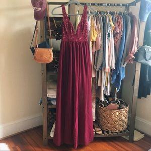 Lulu's Lace Bodice Formal Dress/Gown (XS)